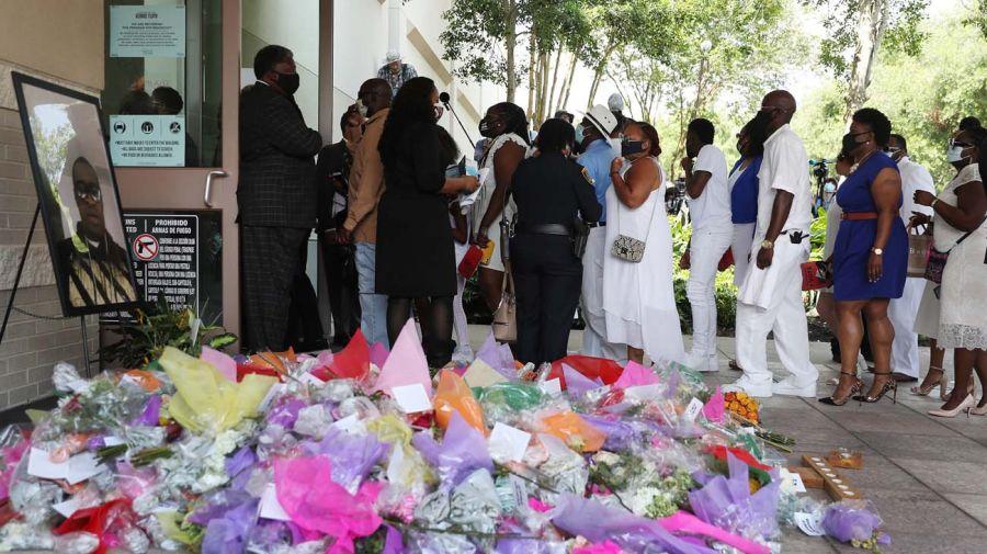 El funeral de George Floyd-20200609