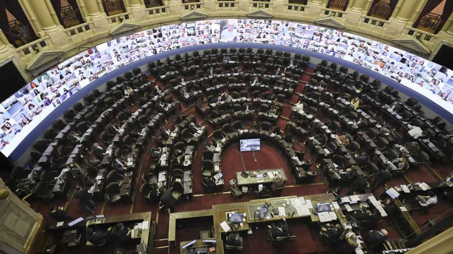 cámara de diputados vacia 20200612