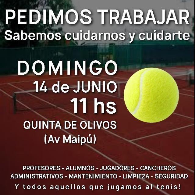 reclamo tenistas