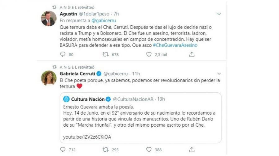 Tuit de Gabriela Cerruti
