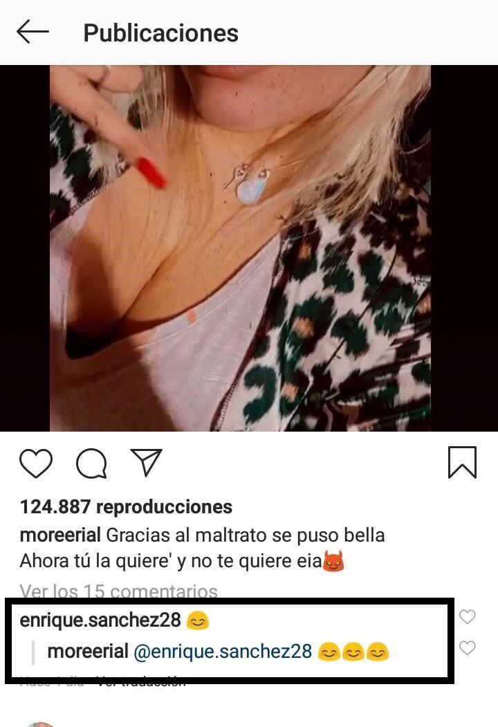 Morena Rial y los mensajes con su ex