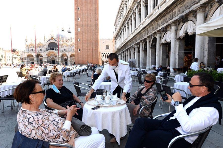 Los turistas regresan a Venecia