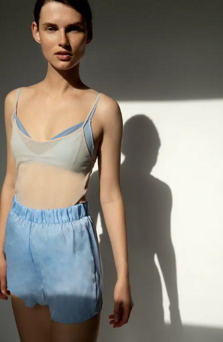 Zara: pijamas para estar en casa