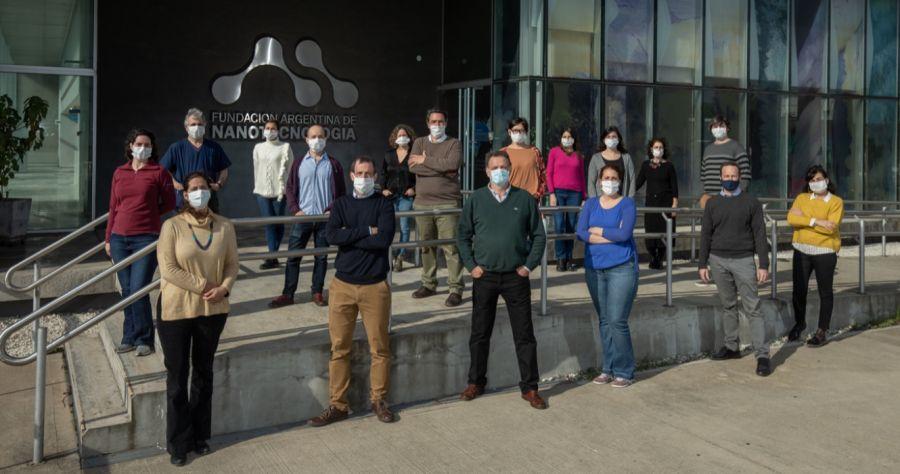 El equipo de cientificos de Inmunova