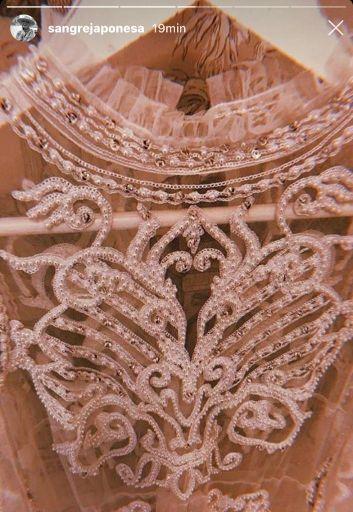 Vestido de casamiento de la China Suárez