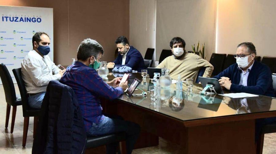 intendentes de la primera sección reunidos por la pandemia 20200618