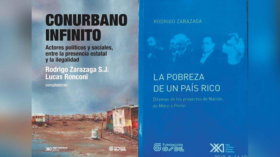 Rodrigo Zarazaga publicó dos libros sobre el tema al que dedicó su vida y estudios.