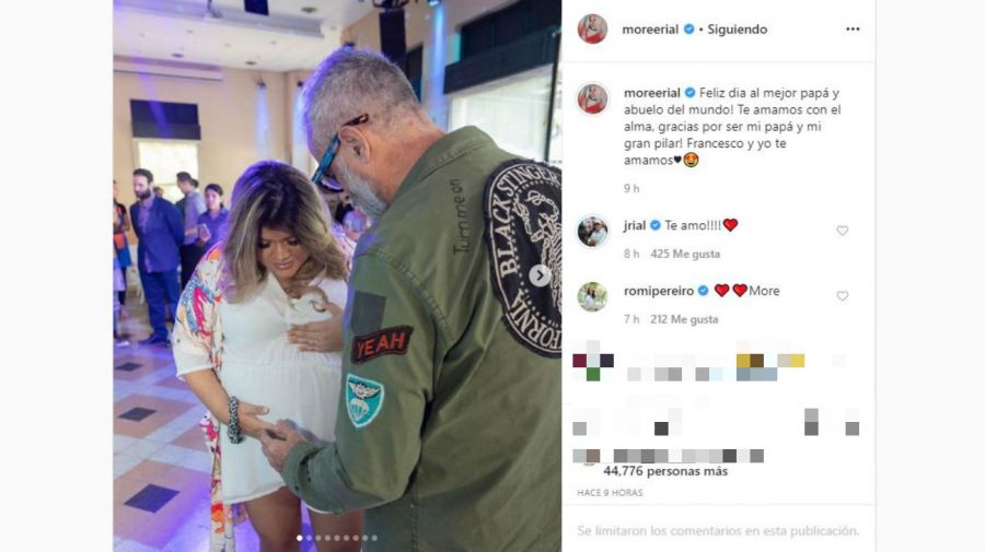 Mensaje Morena a Jorge Rial