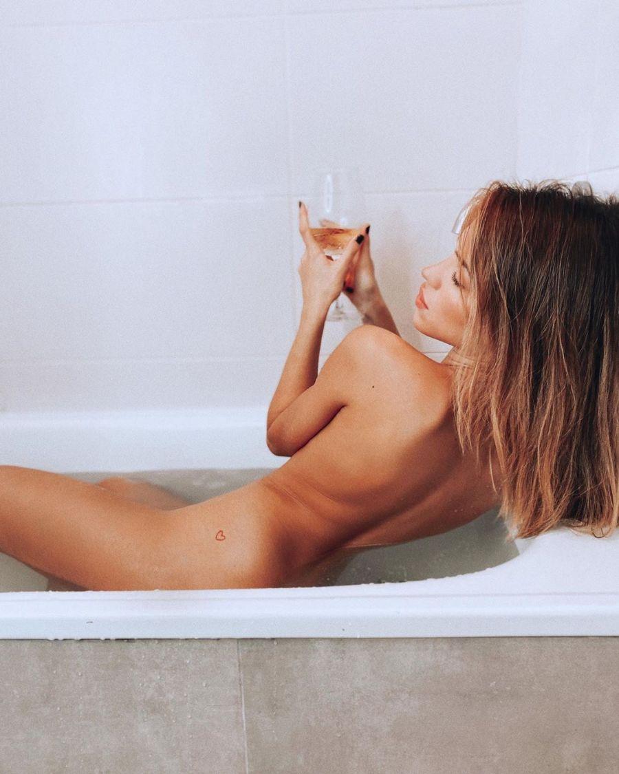 Agustina Agazzani hizo un desnudo que revolucionó las redes