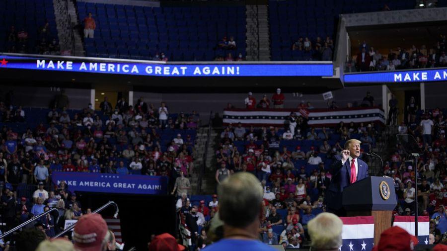 evento de campaña Donald Trump en Tulsa 20200622