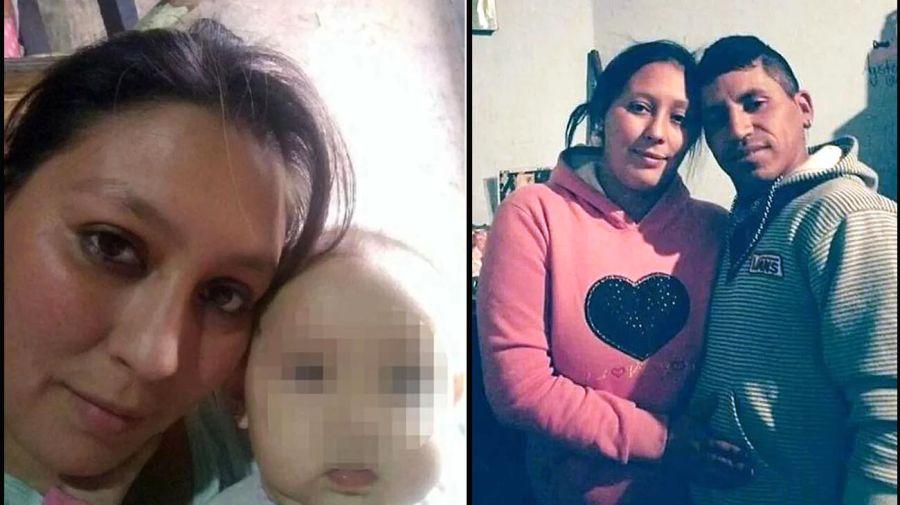 La mamá y el padrastro de Naira, detenidos como principales sospechosos del caso.
