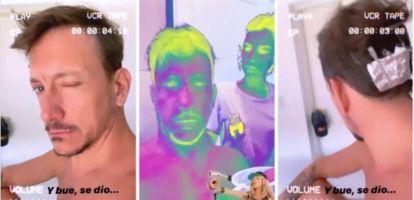 Los cambios de looks de los famosos en cuarentena