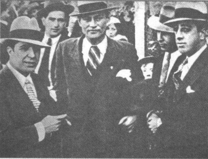 Gardel en viejo estadio de Racing