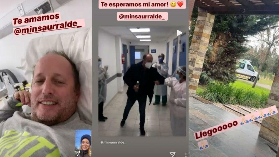 Martin Insaurralde recibió el alta médica