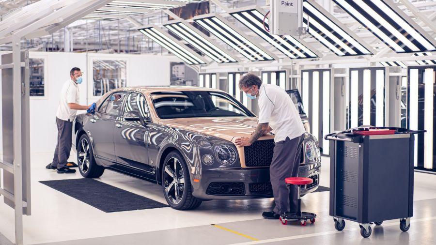 Adiós al Bentley Mulsane