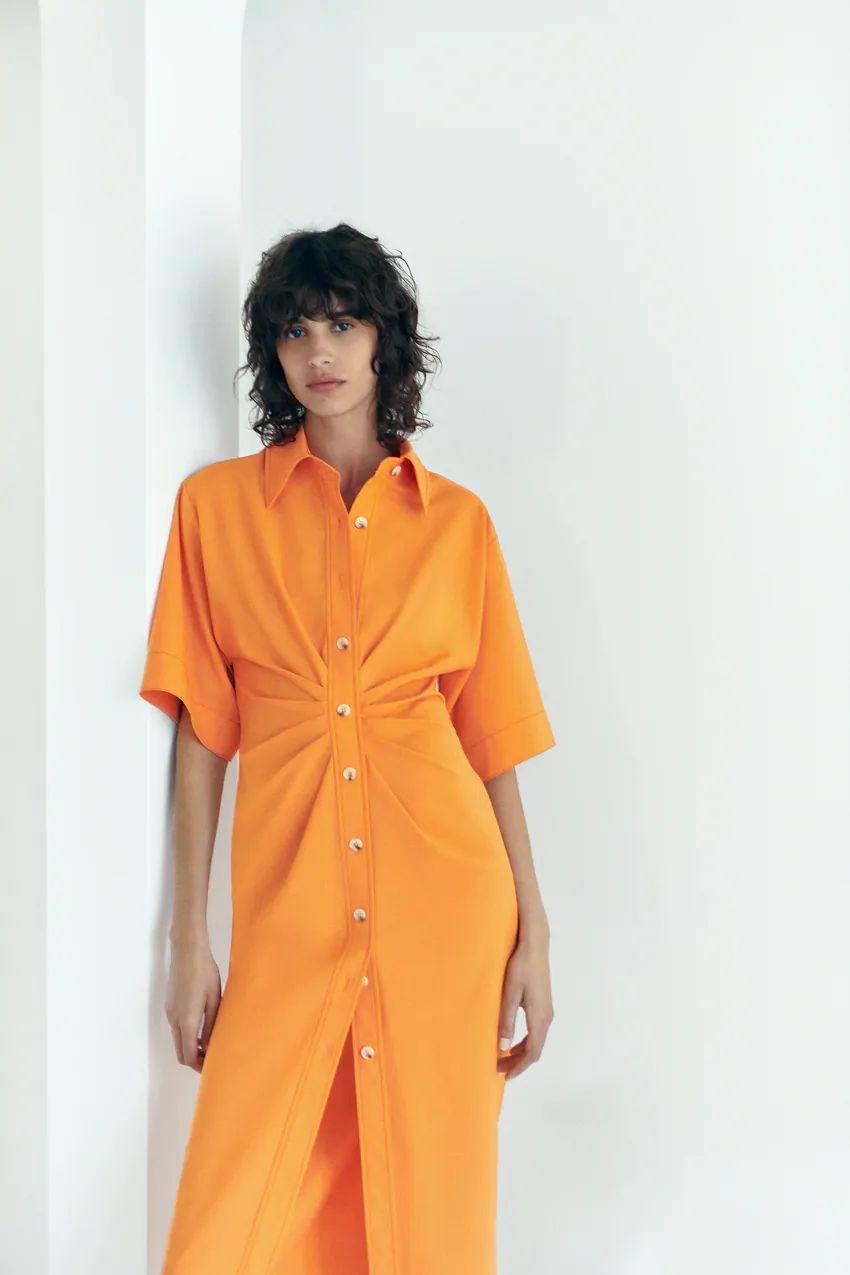 Mica Argañaraz causa furor con el vestido de Zara que