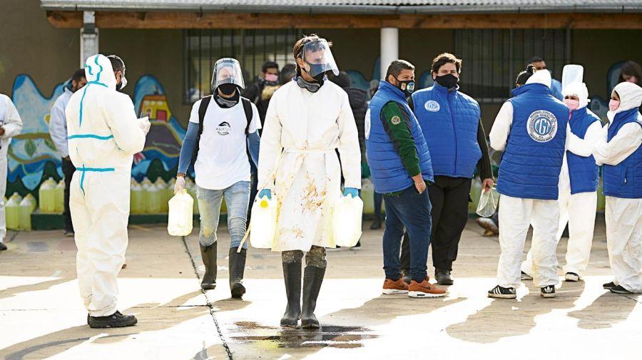 Roberto García Moritan, solidaridad en plena pandemia