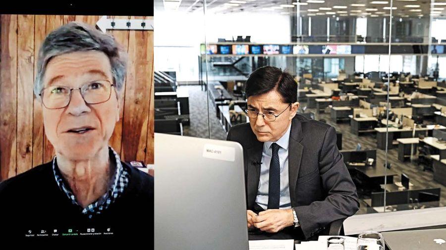 Jeffrey Sachs, el protagonista de la entrevista de Periodismo Puro con Jorge Fontevecchia.