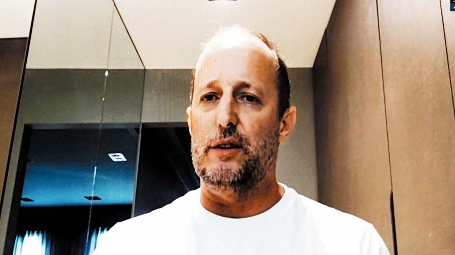 Martín Insaurralde, protagonista de Periodismo Puro, el programa de Jorge Fontevecchia en Net TV.