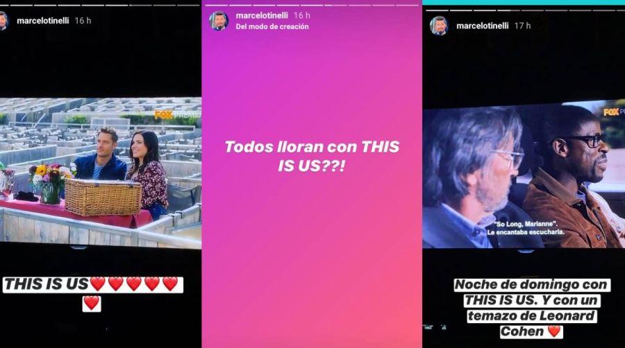 La emoción de Marcelo Tinelli tras anunciar su separación con Guille Valdés