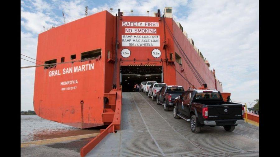 Nissan Argentina volvió a exportar la Frontier
