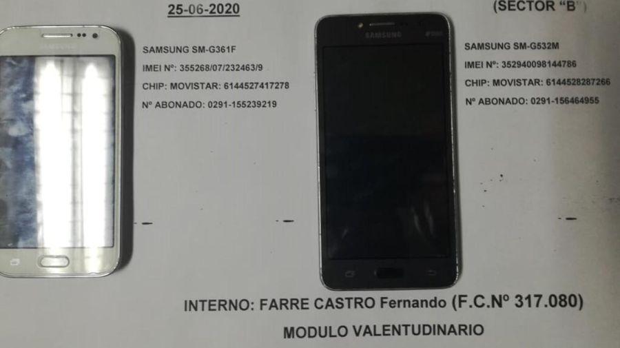 Farre celulares carcel 20200630