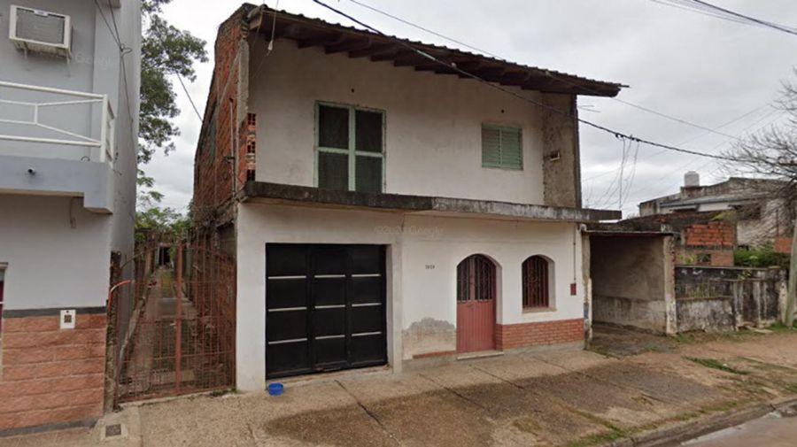 La casa en la que fue hallado el cuerpo de Zamira (Foto: Diario Epoca).
