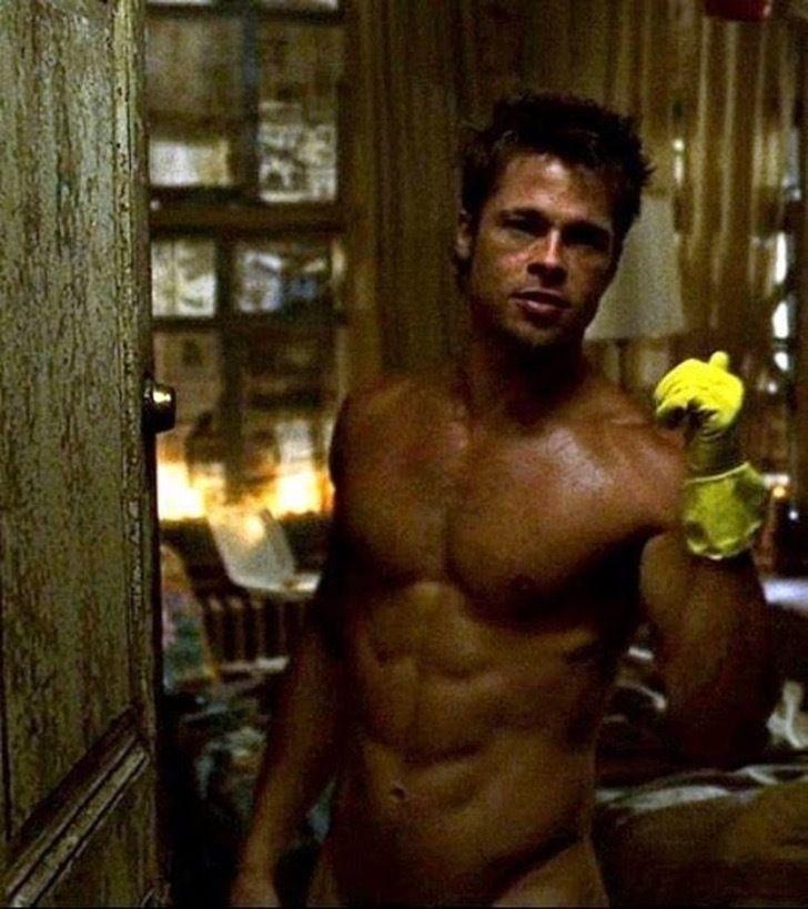 Brad Pitt- El club de la pelea