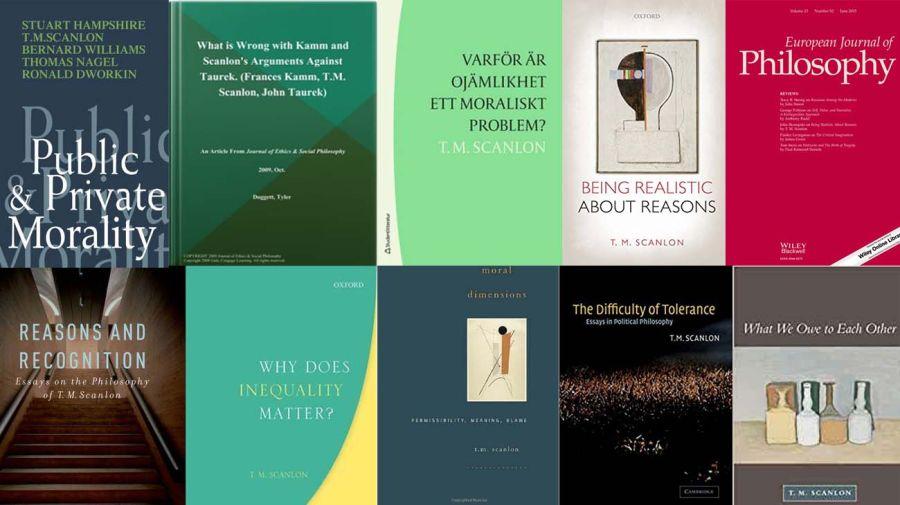 Los libros de Scanlon: