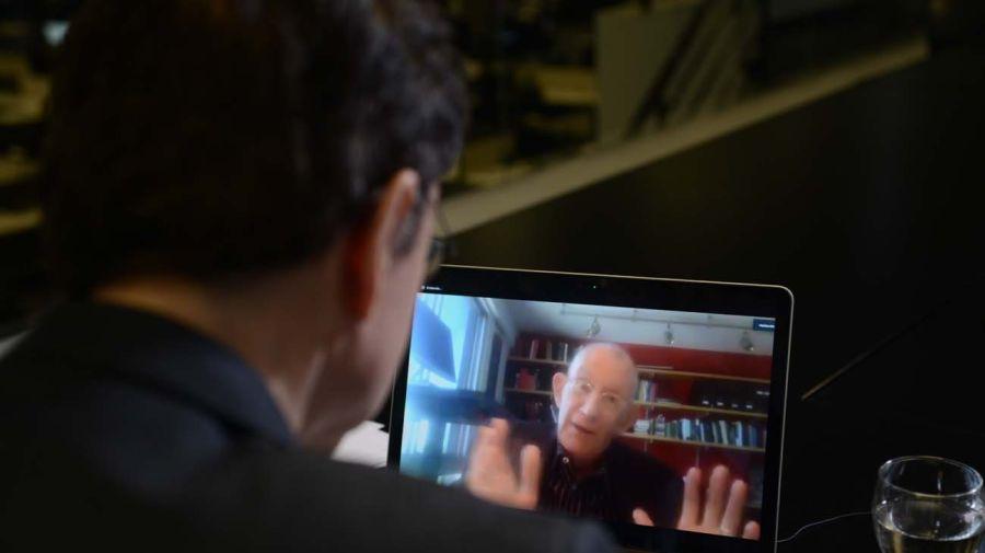 Thomas Scanlon, en la entrevista con Jorge Fontevecchia.