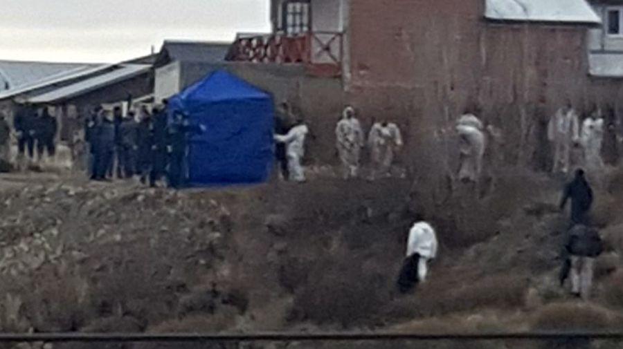 El operativo en la casa donde hallaron el cadáver de Fabián Gutiérrez, el exsecretario de Cristina Kirchner.