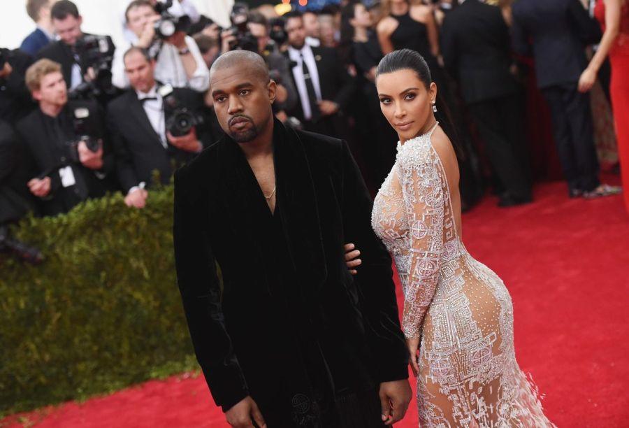Kanye West junto a Kim Kardashian, la posible futura primera dama de Estados Unidos.