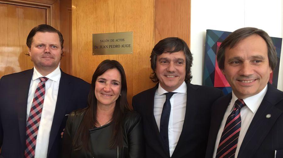 Nuevo juez para el espionaje M: Juan Pablo Auge reemplaza a Federico Villena, removido por la Cámara.