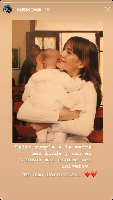 Dante Ortega saludó a Guillermina Valdés por su cumpleaños
