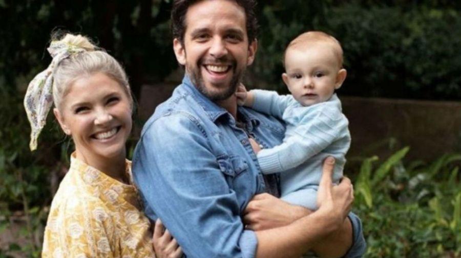 Nick Cordero y su familia