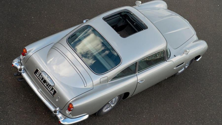 El Aston Martin DB5 de James Bond está de regreso