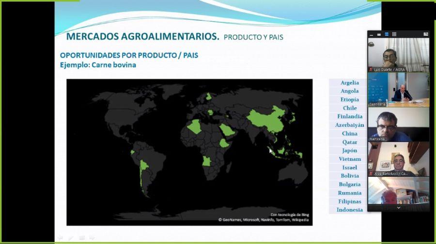Cancilleria exportaciones Sola Neme empresarios 20200708