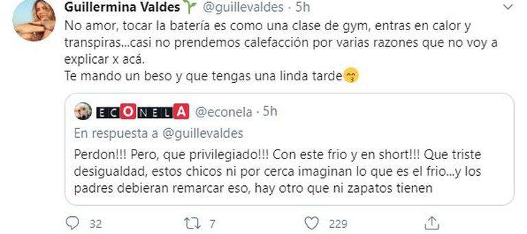 La furia de Guille Valdés cuando cuestionaron a uno de sus hijos