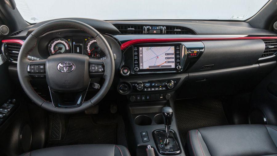 Toyota Hilux 4.0 GR Sport V6 (Fotos: Alejandro Cortina Ricci)