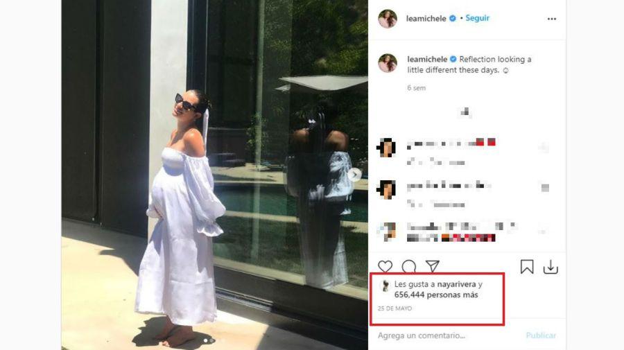 Post de Lea Michele