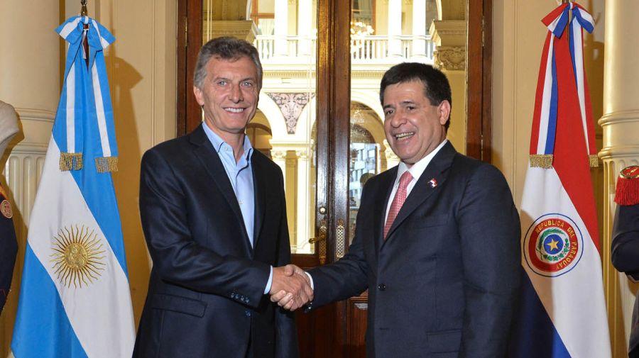 Macri se reúne con Horacio Cartes en Paraguay 20200713