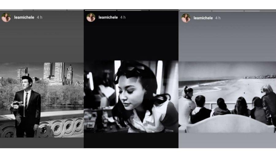 El homenaje de Lea Michele a Naya Rivera y Cory Monteith