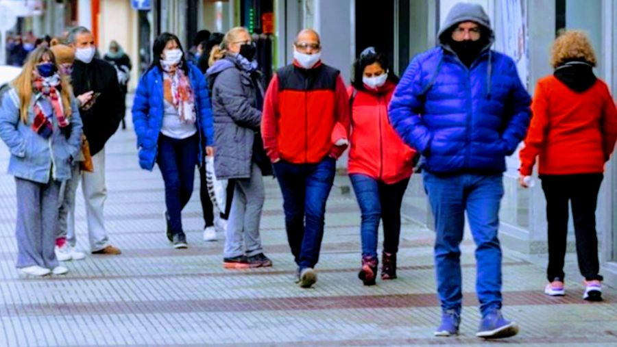 Pandemia en Argentina.
