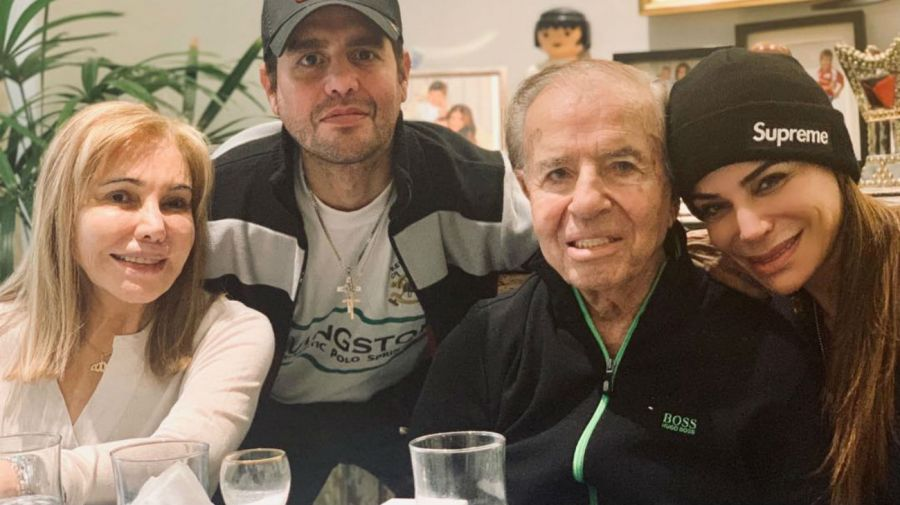 Zulema Yoma y Carlos Menem