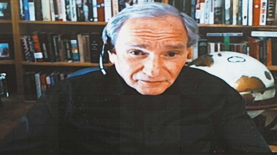 George Friedman, en la entrevista con Jorge Fontevecchia.
