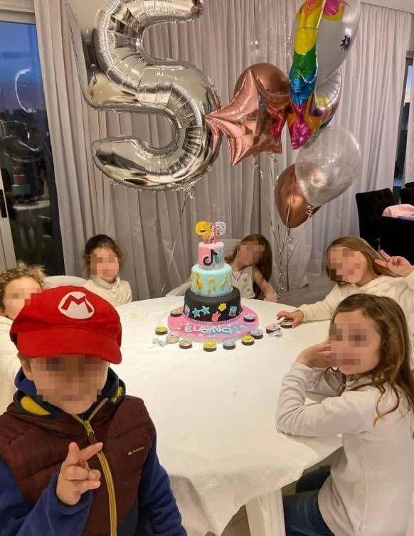 Barby Silenzi fue acusada de romper la cuarentena por festejar el cumpleaños de su hija