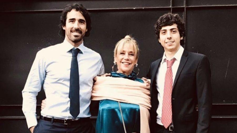 Nacho Viale, Marcela Tinayre y Rocco Gastaldi