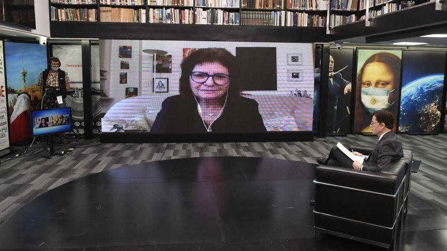 REPORTAJE DE FONTEVECCHIA A PATRICIA BULLRICH 20200720