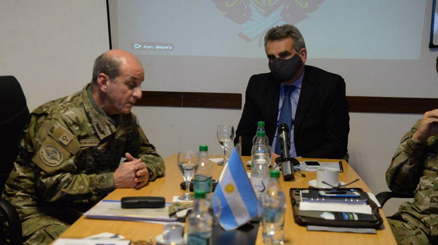 Comandante Operacional General Deimundo de la Operación Manuel Belgrano.
