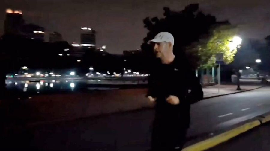 Horacio Rodríguez Larreta Running 20200722